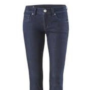 cabi Curvy Knight Dark Wash Skinny Jeans (sz 14)